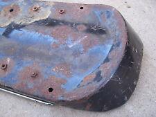 1960s humped back seat pan w/chrome vintage Triumph BSA Victor Bonneville rare