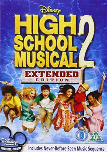 1 of 1 - High School Musical 2 - Extended Edition  **NEW**