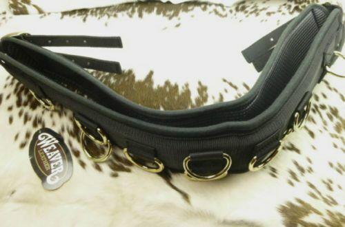 Weaver 10-Ring Neoprene Lined Nylon Surcingle