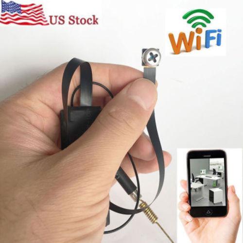 1080p HD wireless WIFI IP DIY spy screw hidden Pinhole camera mini dvr recorder