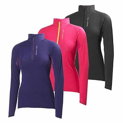 Helly Hansen Women/'s Pace 1//2 Zip Lifa Flow Long Sleeve Top Many Colors