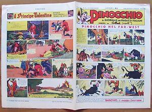 IL-GIORNALE-DI-PINOCCHIO-NERBINI-1938-RISTAMPA-ANASTATICA-1980-Giornale-N-12