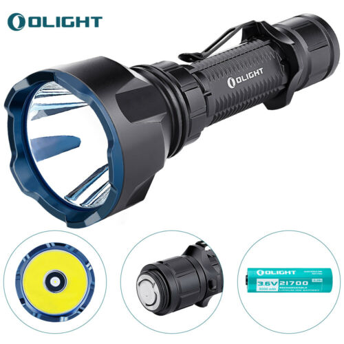 1000 Meters Throw IPX8 Details about  /OLIGHT Warrior X Turbo 1100 lumens Tactical Flashlight