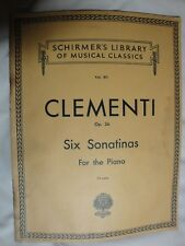 Mozart Six Viennese Sonatinas Piano Book and Audio NEW 000296785