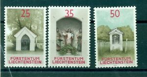 Chapels Liechtenstein 1988 Stamps Cappelle Topical Stamps