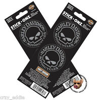 Harley Davidson Willie Skull Decal Two Sheets Made In Usa