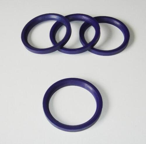 Locating Spigot Rings for 72mm TSW for Alfa Romeo 156