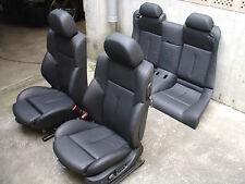 Inkl. UMBAU BMW E63 Lederausstattung Sportsitze Sitze Leder schwarz Ausstattung