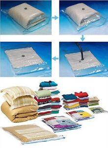 sac housse de rangement sous vide polyvalent pour v tement r sistant nouveau la ebay. Black Bedroom Furniture Sets. Home Design Ideas