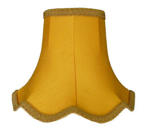 Gold Wall Lampshades : Gold Fabric Lamp shades Ceiling Wall Lights Table Floor Lampshade eBay