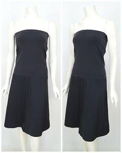 Womens-Wolford-Tube-Dress-Skirt-Grey-Stretch-A-Line-Sleeveless-Size-EU38-UK10