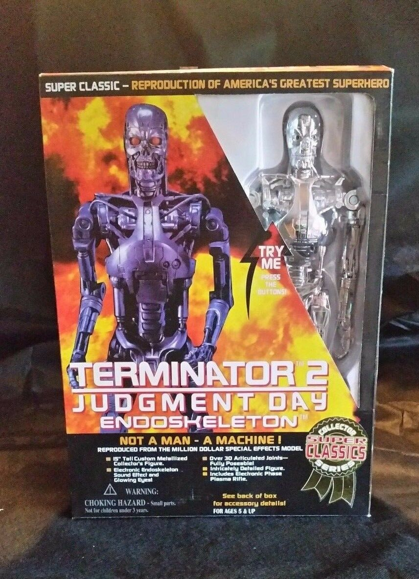 Terminator 2 Judgement Day Endoesqueleto por Toy Island