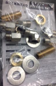 "SeaStar HF-5512 Bulkhead Fitting Kit 3//4/"" f Hydraulic Steering Hose Teleflex MD"