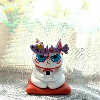 New 52Toys Ramen Cat Designer Toy 1//5 Tuxedo Cat with Red Octopus Mini Figure