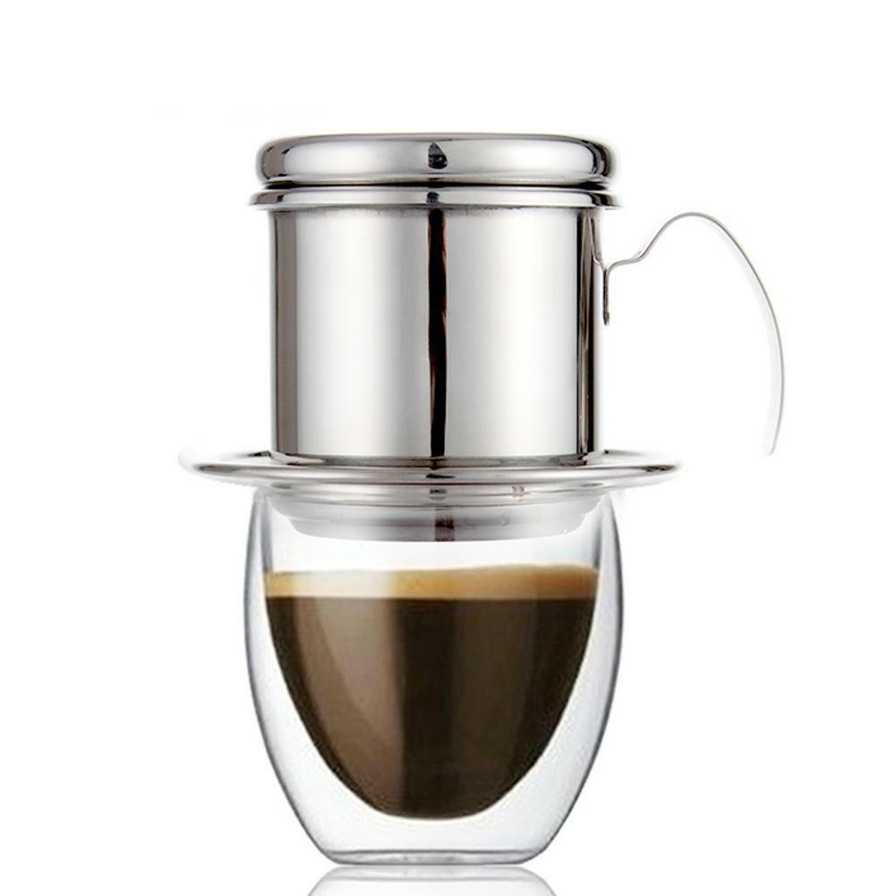 Home Garden Hario Syphon Mocha Mca 3 Set Of 1 Vietnamese Coffee Drip Filter Infuser Maker Stainless Steel Silver