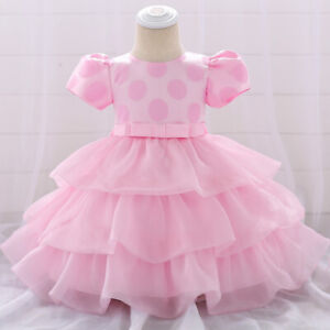 Infant-Baby-Girl-Tutu-Dress-Summer-Toddler-Birthday-Party-Wedding-Dress-Clothes