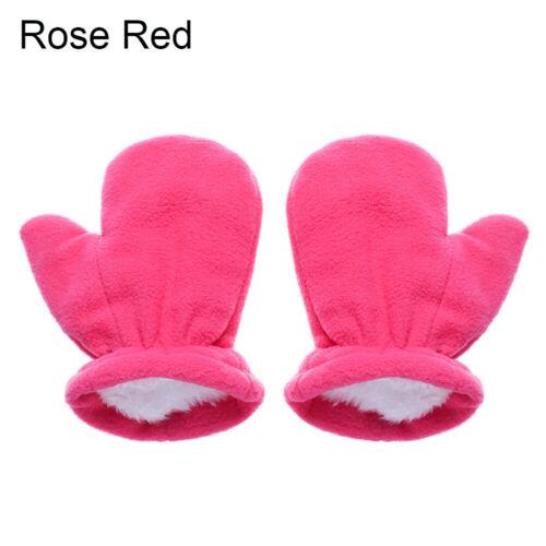 Details about  /Baby Thick Gloves Kids Winter Fleece Gloves Newborn Velvet Thick Warm Mittens