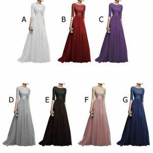 Cocktail-Dress-Dresses-Long-Formal-Evening-Lace-Maxi-Vintage-Party-Women-Wedding