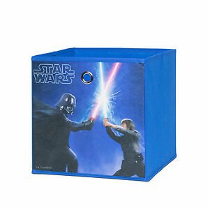 Faltbox Flori 1 Disneybox Aufbewahrungsbox Korb Regal Star Wars 32x32x32 cm