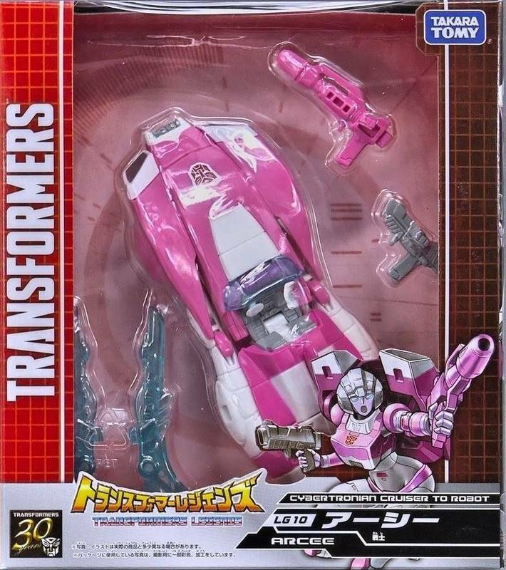 Transformers Takara Japón leyendas cibertrónico LG-10 Autobots Arcee terrosos Nuevo