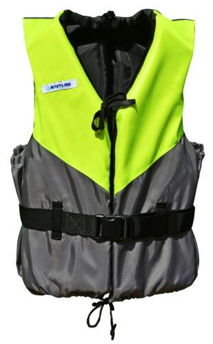 Schwimmhilfe Navyline gelb//dunkelgrau Auftriebshilfe Schwimmweste Segeln Kanu