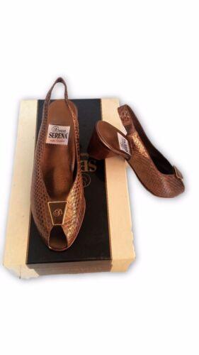 colección N Serena 36 Oferta Decolte 'Shoes In Donna Nueva Leather q1SAnU