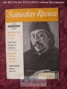 Saturday-Review-October-30-1954-PETER-YATES-WILMON-MENARD-ELMO-ROPER