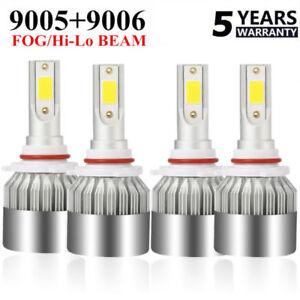 4X-9005-9006-LED-Headlight-Kit-476000LM-Hi-Low-Beam-HB3-HB4-6000K-Blubs-Light