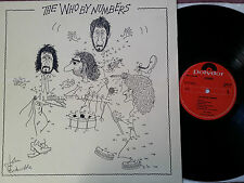 THE WHO BY NUMBERS LP-Dutch Pressed Polydor DE LUXE 2490 129 - NM