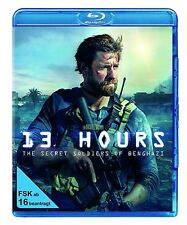 13 HOURS: THE SECRET SOLDIERS OF BENGHAZ (John Krasinski) BLU-RAY NEU