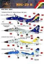 Hungarian Aero Decals 1/48 MIKOYAN MiG-29 in International Service