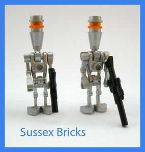mit Blaster Silver Lego Minifigur Star Wars sw229 Assassin Droid