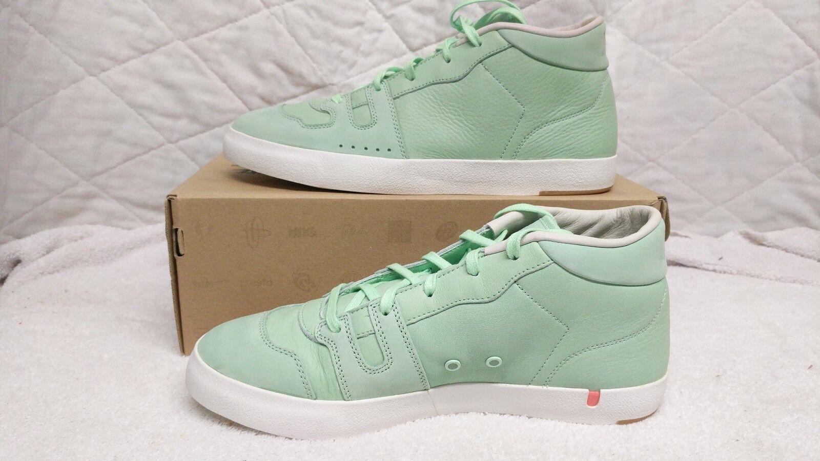 Premio nike maniero del nuovo galles del sud 515018-300 pelle verde Uomota Uomo casual scarpe taglia 9