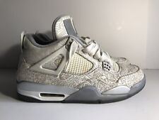 purchase cheap 2ebe2 d4b1f item 7 Nike Air Jordan 4 IV Retro Laser White Chrome Silver 705333 105 Men  XI Sz 10.5 -Nike Air Jordan 4 IV Retro Laser White Chrome Silver 705333 105  Men ...