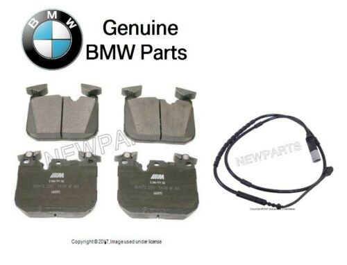 For BMW M2 M3 M4 Front Left /& Right Brake Pad Set w// Sensor Genuine