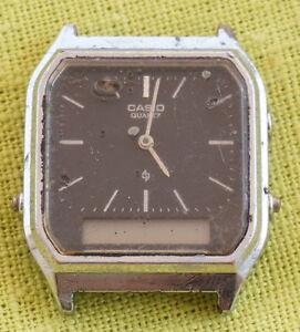 308 Japan Aq About Casio Lcdanalog Watch Details Quartz 222 Steel Stainless srxthQCd