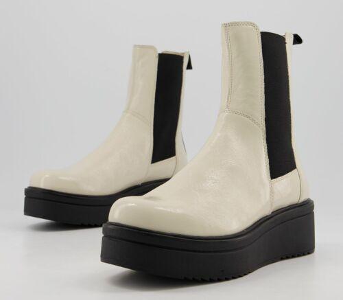 Womens Vagabond Tara High Boots Plaster Boots