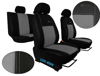 Tailored Black Full Set Seat Covers For Seat Ibiza Mk3 Mk4 2002-2017