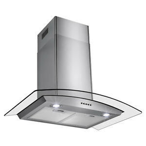 30-034-New-Europe-Exhaust-Stainless-Steel-Glass-Wall-Mount-Kitchen-Vent-Range-Hood
