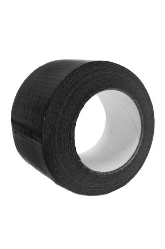 15x48mm Mountain Warehouse Rotolo di nastro adesivo in nero resistente all/'acqua