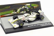 Atlas 1:43 Brawn GP BGP 001 Rubens Barrichello 2009 Colección F1