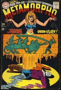 METAMORPHO-16-1968-PIN-UP-INTACT-Jezeba-Queen-Of-Fury-DC-COMICS