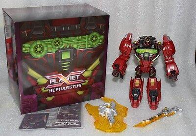 NEW Planet X Transformers TFCON PX-06B Dinobot Hephaestus Grimlock Special offer