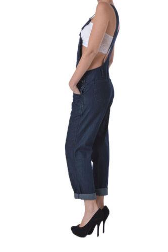 Overalls American Denim d8e Blue dark Rjho154 Classic Bazi Women's Jumpsuits wTHXw