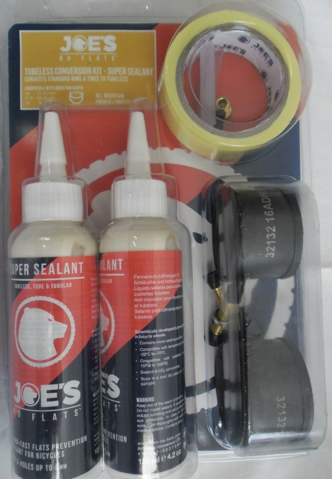 BIKE CYCLING  BICYCLE MTB SUPER SEALANT TUBELESS CONVERSION KIT 180586  cheap sale outlet online
