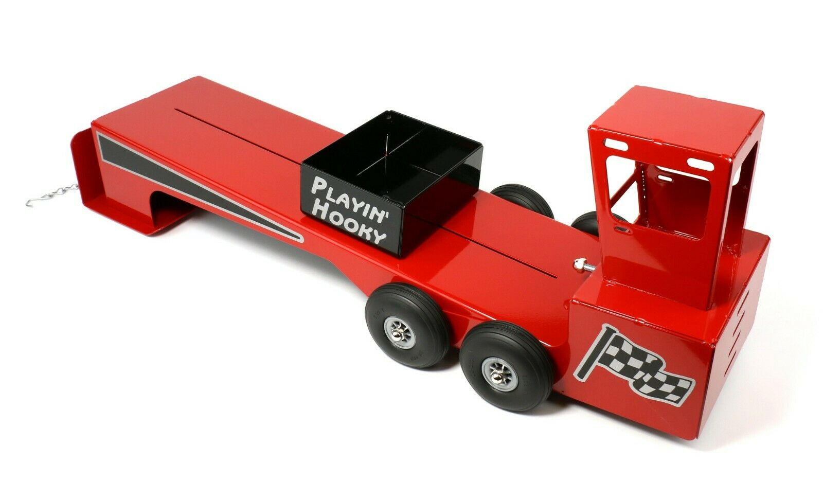 rot Toy Pulling Sled Skid, Tractor or Truck, 1 16 Scale, MADE IN USA, All Metal
