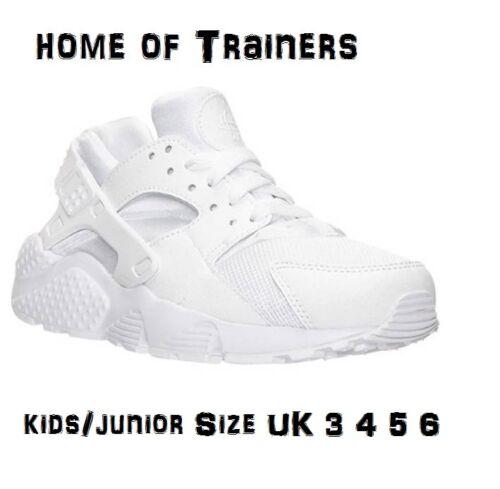 Huarache Bianco scarpe Air Nike Per Bambini Bambini Sportive Taglia Triplo gs Zqn5SSwI