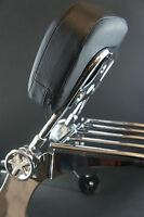 Adjustable Detachable Backrest Sissy Bar Luggage Rack Harley Davidson Dyna 02-05