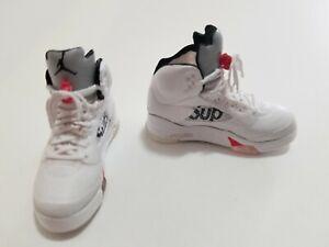 1-6-Scale-Turnschuhe-Sportschuhe-Sneaker-AIR-aj5-SUP-fuer-12-034-Action-Figur