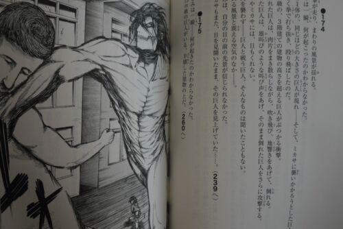 JAPAN Attack on Titan Shingeki no Kyojin Game Book Wall Rose Shishu Meirei 850